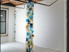 Juli's Waterfall, Colored Glass, Ball Chain, Aprox. 18 x 2 ft, 2000